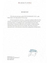 Referencje MOBILIANI - zdjęcie