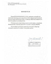 Referencje P.P.H.U. JURSTOL Jerzy Kuczewski - zdjęcie