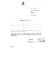 List Referencyjny - PORSCHE - zdjęcie