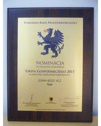 Nominacja do Nagrody Pomorskiej Gryfa Gospodarczego 2011 - zdjęcie