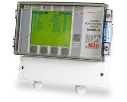 Pomiar gazów z 16 głowic pomiarowych MSMR-16 - zdjęcie