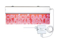 Ostrzegawcza tablica świetlna OTS-12L - zdjęcie
