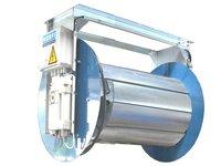 Bębnowy wyciąg spalin z napędem elektrycznym - zdjęcie
