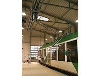 Ramiona wyciągowe dla lokomotyw i pojazdów specjalnych - zdjęcie