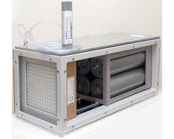 Filtropochłaniacz modułowy z węglem aktywnym od 400 do 14000m3/h w jednym bloku - zdjęcie