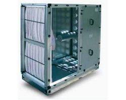 Filtro-pochłaniacz TROX z węglem aktywnym oraz filtrami kieszeniowymi - zdjęcie