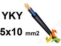 Kabel YKY 5x10mm2 0,6/1kV przewód ziemny, miedziany - zdjęcie