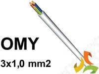 Przewód OMY 3x1,0mm2 (MIESZKANIOWY) / 100mb - zdjęcie