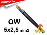 Przewód gumowy OW 5x2,5mm2 H05RR-F - zdjęcie