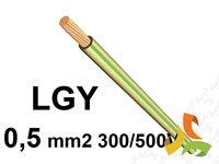 Przewód LgY 0,5mm2 300/500V (LINKA) 100mb - zdjęcie