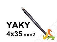 Kabel YAKY 4x35mm2 SE ziemny aluminiowy - zdjęcie