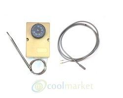 Przewód grzewczy 1M/25W, grzałka silikonowa, termostat mechaniczny F2000 - zdjęcie