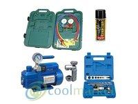 Zestaw podstawowych narzędzi do montażu i serwisu klimatyzatorów - zdjęcie