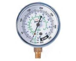 Manometr niskiego ciśnienia na czynnik R410 - zdjęcie
