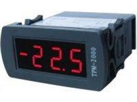 Termometr elektroniczny tablicowy panelowy TPM-2000 2 czujniki - zdjęcie