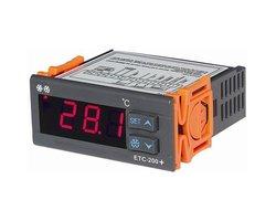 Regulator temperatury Sterownik chłodniczo/grzewczy ETC-200+ - zdjęcie