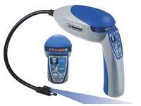 Wykrywacz nieszczelności MASTERCOOL 55500 z lampa UV i akumulatorkami - zdjęcie