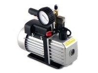 Pompa próżniowa jednostopniowa 1TW-2DV, 100 l/min, el.zaw., manometr - zdjęcie