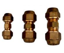 Złączka, łącznik 5/8' (16mm) z narzutkami, nakrętkami - zdjęcie