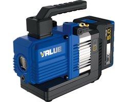 Akumulatorowa dwustopniowa pompa próżniowa Value Navtek VRP-2DLi 56l/min - zdjęcie