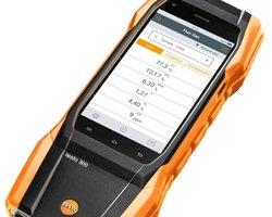 Analizator spalin testo 300 - zestaw z drukarką Bluetooth - zdjęcie
