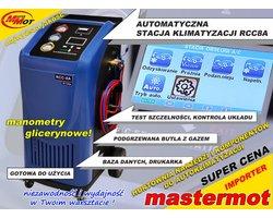 Automatyczna stacja klimatyzacji RCC8A BLUE - zdjęcie