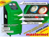 Półautomatyczna stacja klimatyzacji AC500 GREEN - zdjęcie