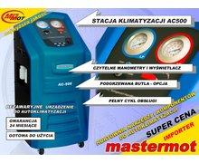 Półautomatyczna stacja klimatyzacji AC500 BLUE - zdjęcie