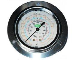 Manometr wysokiego ciśnienia ++MR-305-R407C/R134a/R404A++ - zdjęcie