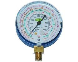 Manometr niskiego ciśnienia M2-250-CLIM R22,R407C,R410A - zdjęcie