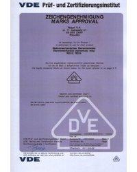 Certyfikaty VDE - zdjęcie