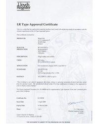 Certyfikaty Lloyd Register - zdjęcie