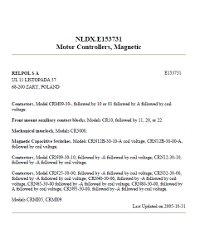 Certyfikaty UL - zdjęcie