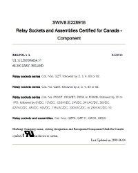 Certyfikaty cUL - zdjęcie