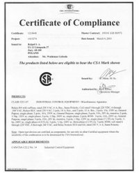 Certyfikaty CSA - zdjęcie