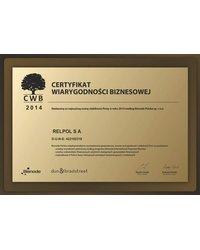 Certyfikat Wiarygodności Biznesowej - zdjęcie