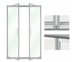 Drzwi uchylne - zamykanie grawitacyjne - zdjęcie