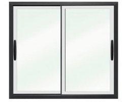 Drzwi przesuwne w ramie PCV DF-PP57 - zdjęcie