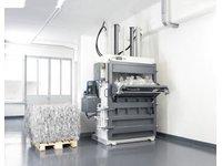 Pionowa prasa belująca HSM V-Press 860 P - zdjęcie