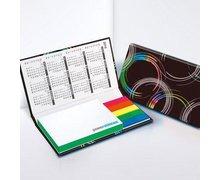 Zestawy notesów samoprzylepnych w twardej oprawie - Set 3 colourline - zdjęcie