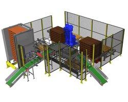 Paletyzacja przy użyciu robotów przemysłowych - zdjęcie