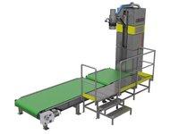 Urządzenie służące do napełniania worków typu BIG-BAG – jednozaczepowych - zdjęcie