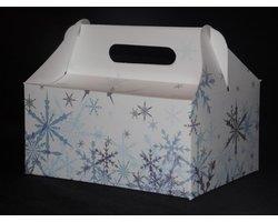 Pudełka zimowe 'Śnieżynki' - zdjęcie
