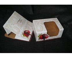 Pudełka na muffinki 'Ornament' - zdjęcie
