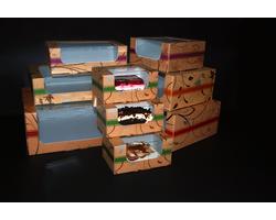 Pudełka na torty, ciasta i muffinki 'Złote' - zdjęcie