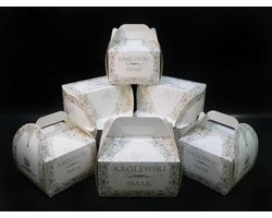Pudełka na torty koszyczki 'Królewski Smak' - zdjęcie