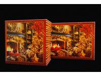 Pudełka świąteczne 'Kominki' - zdjęcie