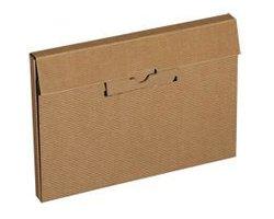 Pudełka fasonowe z wykrojnika - koperta-teczka - zdjęcie