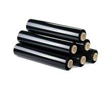 Folie stretch czarne - zdjęcie