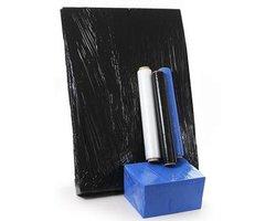 Folia stretch - transparentna, czarna, niebieska - zdjęcie